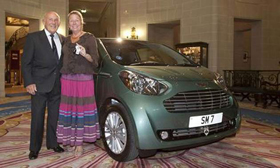 (Stirling Moss Aston Martin Cygnet. Image courtesy Aston Martin.)