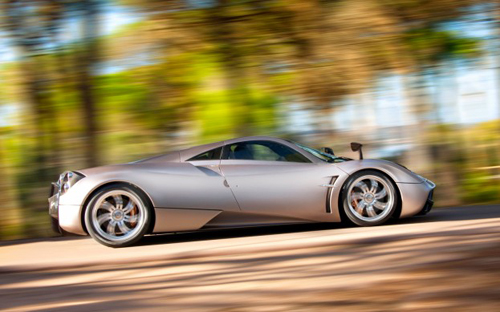 (2012 Pagani Huayra. Image credit Automobile Magazine.)