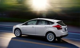 The Ford Focus EV. (Photo courtesy of Ford.)