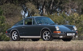 Steve McQueen's 1970 Porsche 911 S. (Photo from RM Auctions.)