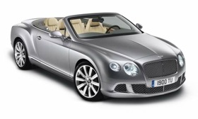 The Bentley Continental GTC. (Photo from Bentley.)