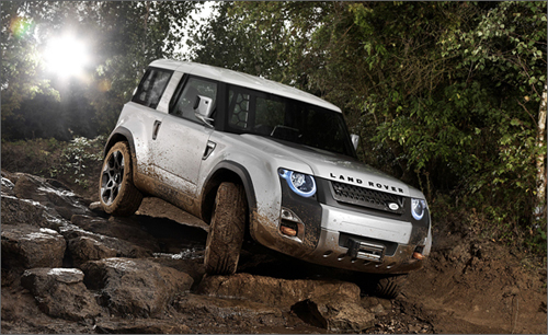 2012 Land Rover DC100 concept. Image courtesy Land Rover.