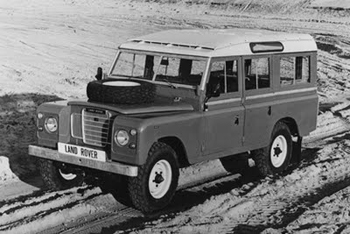 1971 Land Rover Series III. Image courtesy Land Rover.