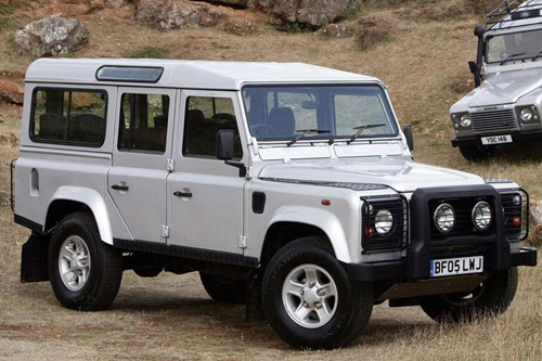 Land Rover Defender. Image courtesy Land Rover.