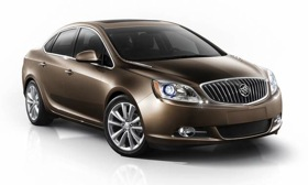 The 2012 Buick Verano. (© GM Corp.)