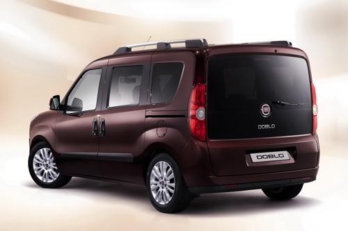 Fiat Doblo. Image courtesy Fiat.