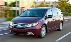 The Honda Odyssey. (Photo courtesy of Honda.)