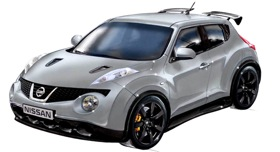 Nissan Super Juke. (Image from CarScoop.)
