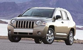The new Jeep to be built in Italy will be smaller than the Compass, shown. (Image courtesy of Jeep.)