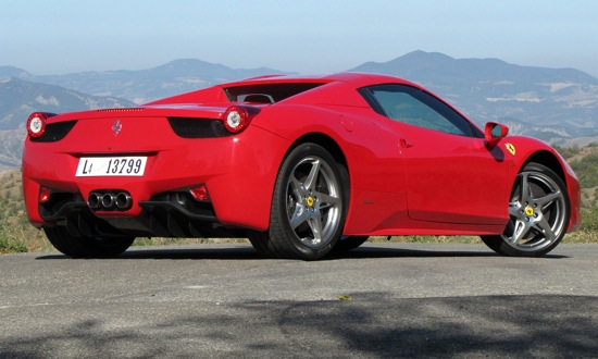 The Ferrari 458 Spider. (Photo by Marc Lachapelle.)