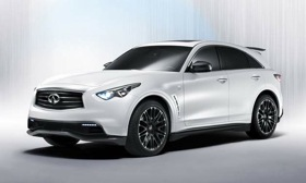 The Sebastian Vettel Edition Infiniti FX. (Image courtesy of Infiniti.)