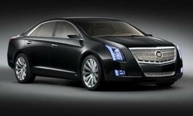 The 2013 Cadillac XTS will be aimed at traditional luxury-import buyers, along with the livery service. (Photo by Cadillac.)