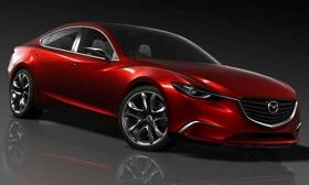 The Mazda Takeri concept debuts at the Tokyo motor show in late November. (Photo by Mazda.)