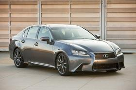 The Lexus GS 350 F Sport. (Photo by Lexus.)