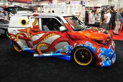 Toyota Scion at SEMA. Image by Sam Smith.