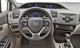 Critics have slammed Honda for using hard, inexpensive-looking plastic on the interior of the redesigned 2012 Civic. (Photo courtesy of AutoWeek.)&#xA;&#xA;