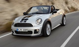 The 2012 Mini Roadster. (Photo by Mini.)