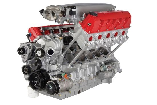 The Mopar V10 Competition Crate Engine. (Photo by Chrysler.)