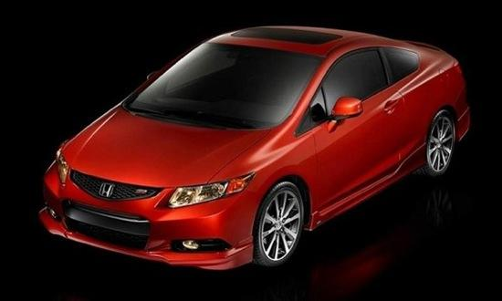 The Honda Civic Si Coupe HFP. (Photo by Honda.)