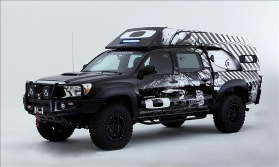 The Toyota Oakley Surf Tacoma. (Photo by Toyota.)