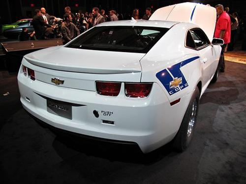 Chevrolet COPO Camaro Concept. Image courtesy New York Times.