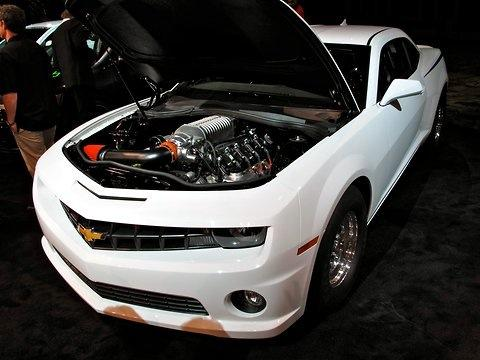 The COPO Camaro. (Photo by Jerry Garrett of the New York Times.)
