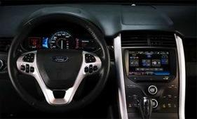 MyFord Touch, the complex infotainment system found on new Ford and Lincoln models, has caused Ford's quality ratings to slip. (Photo by Ford.)