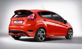 The Ford Fiesta ST concept. (Photo by Ford.)