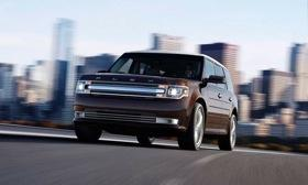 The 2013 Ford Flex will get revised exterior styling including a new grille. (Photo by Ford.)