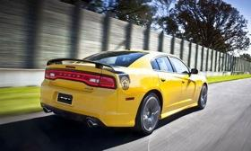 The Dodge Charger SRT8 Super Bee. (Photo by Dodge.)