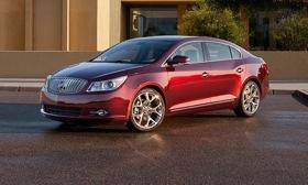 The Buick LaCrosse GL concept will be shown at the Los Angeles auto show next week. (Photo by Buick.)