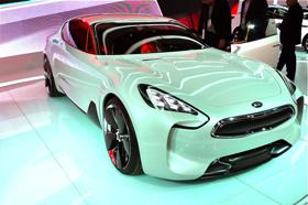 The Kia GT Concept. (Photo by Josh Condon.)