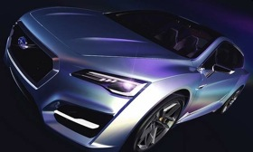 Subaru will reveal a striking wagon concept at the Tokyo motor show. (Image by Subaru.)