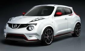 Nissan Juke Nismo concept debuts at the Tokyo motor show. (Image courtesy of Nissan.)