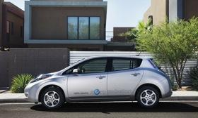 The 2012 Nissan LEAF won the Japanese Car of the Year award. (Photo by Nissan.)