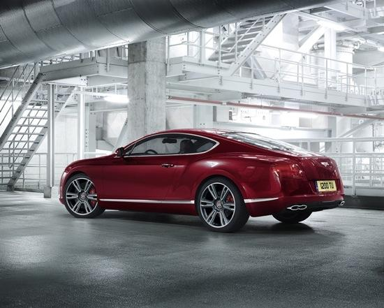 The V8-powered Bentley Continental GT. (Photo by Bentley.)