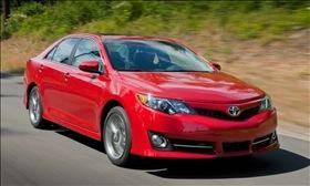 The 2012 Toyota Camry. (Photo by Toyota.)