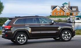 The 2012 Jeep Grand Cherokee. (Photo by Jeep.)