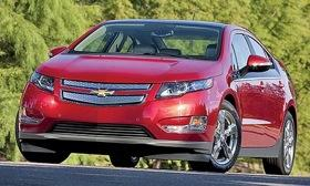General Motors is asking its 8,000 Volt customers to have the steel surrounding their cars' battery packs reinforced by Chevy dealers. (Photo courtesy of Autoweek.)