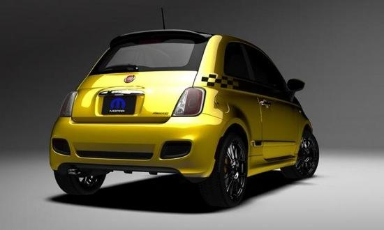 2012 Fiat 500 'Stinger'. Photo by Mopar.