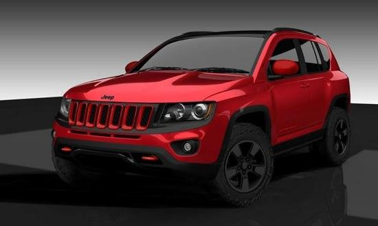 2012 Mopar Jeep Compass 'True North'. Image by Mopar.