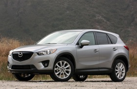 The 2013 Mazda CX-5. Photo by Mazda.
