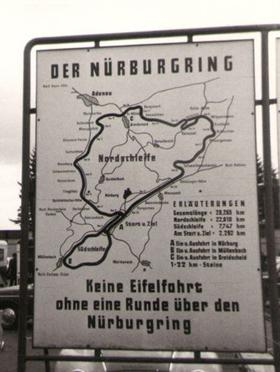 Nurburgring sign. Image via Wikipedia/Creative Commons license.