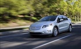 The Chevy Volt. Photo by General Motors.
