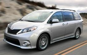 The Toyota Sienna. Photo by Toyota.