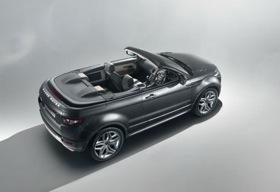 The Range Rover Evoque convertible concept.