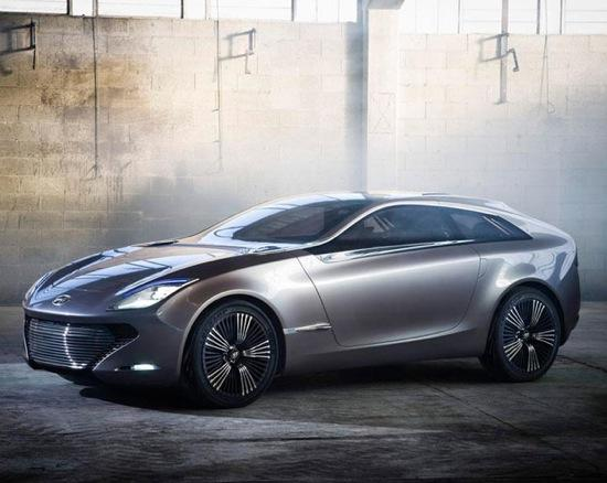The Hyundia i-onic concept. Photo by Hyundai.