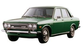 1972 Datsun 510 sedan, courtesy Nissan
