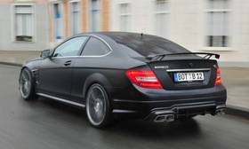 The 0-to-60 mph time drops to 3.7 seconds. Photo by Brabus.