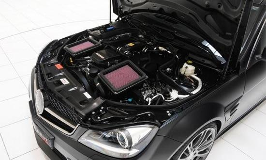 Brabus adds a new crank and a few other goodies to the Mercedes V12.. Photo by Brabus.&#xA;